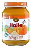 Holle Kürbis mit Reis, 6er Pack (6 x 190 g) - Bio