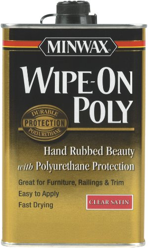 minwax-60910-wipe-on-poly-polyurethane-finish-clear-satin-quart