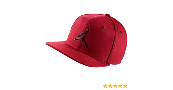 best sneakers 5c7c5 da9c8 Nike Jordan Jumpman Snapback - Michael Jordan Line Baseball Cap unisex,  Unisex, Rojo Negro (Gym Red Black), MISC  Amazon.co.uk  Sports   Outdoors