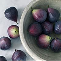 Tutti Decor Set of 2 Faux Artificial Figs ornaments, fruit very realistic for display. 6.5cm each