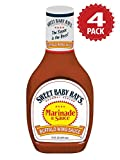 Sweet Baby Ray's Buffalo Wing Marinade And Sauce - 4er Pack (4x454g)