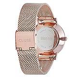 Cluse-Damen-Armbanduhr-Analog-Quarz-Edelstahl-CL30013