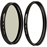 Best AmazonBasics Lens Filters - AmazonBasics UV Protection Lens Filter and Circular Polarizer Review