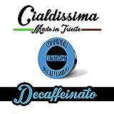 cialdissima 100 Kapseln 100% Kompatibel Lavazza A Modo Mio Entkoffeiniert, Espresso Italiano!
