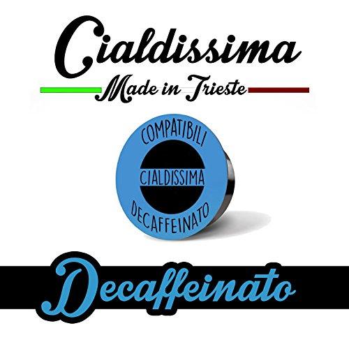 cialdissima 100 Kapseln 100{67e6cb9435179b6c6795facca105d85b5c52b96674e9427327d06ed094d13ad1} Kompatibel Lavazza A Modo Mio Entkoffeiniert, Espresso Italiano!