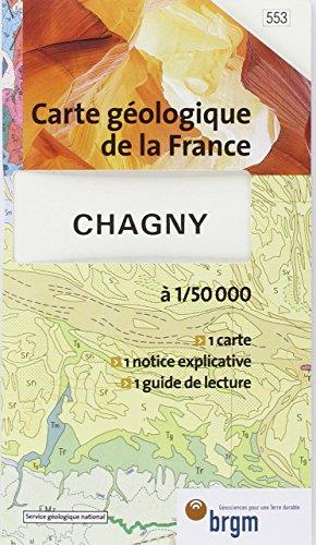 Carte géologique : Chagny