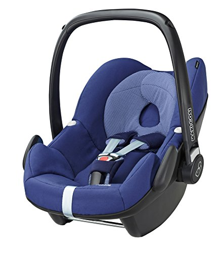 Maxi-Cosi Pebble, Babyschale Gruppe 0+ (0-13 kg), river blue, ohne Isofix-Station