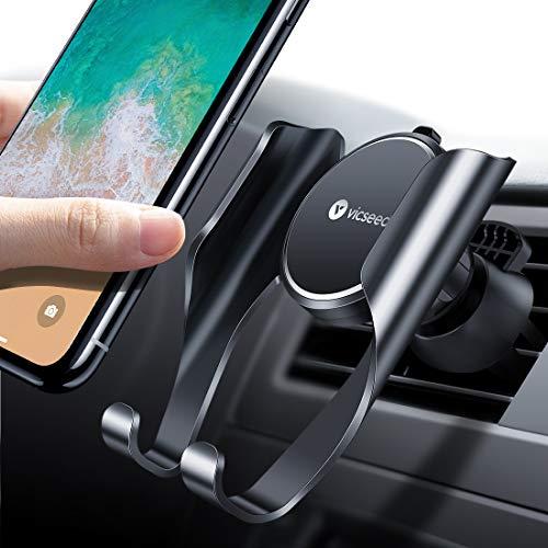 Handyhalter fürs Auto Handyhalterung Lüftung Universale Smartphone Halterung Kfz für iPhone XS XR X 8 7 6S Samsung Galaxy S10 S10+ S10e Huawei P30 Pro