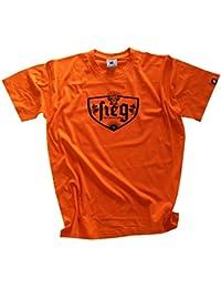 Shirtzshop – Victoria Nuestros Alemana Quemador Jugadores de Fútbol 2016 EM  – Camiseta Naranja ... 141f4624c8c81
