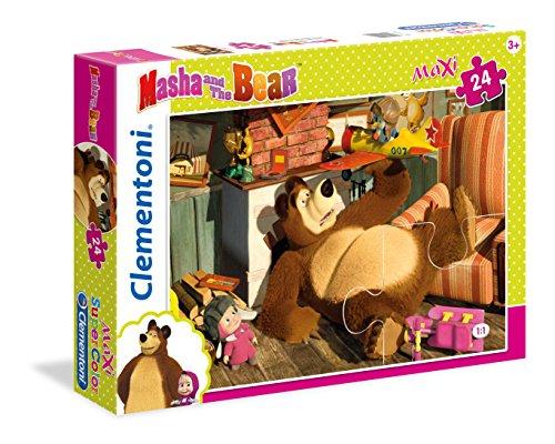 Clementoni 24492 - Puzzle Masha e Orso