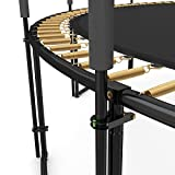 12x Deluxe Metallschellen für Trampolin Netzpfosten - 3