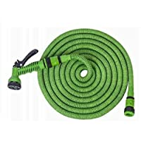 Beorol Expandable Magic Garden Hose, 15m With Sprayer Green