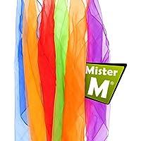 Mister M 6 Tücher, , mit Gratis online Jonglier Lern Video