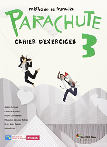 PARACHUTE 3 PACK CAHIER D'EXERCICES - 9788490490174