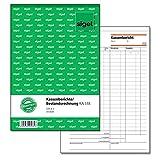 Sigel KA518 Kassenbericht/Bestandsrechnung A5, 50 Blatt