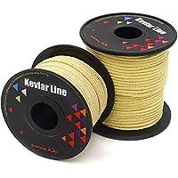 emma kites EMMAKITES 1000lb 15Meter Trenzada Kevlar Cadena Cable de Utilidad línea de albañil para la Cometa Brida de Pesca Camping proyectos creativos