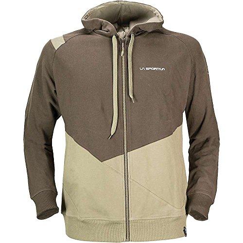 La Sportiva Herren Rocklands Rock Climbing Hoody Sweatshirt für Herren, Herren, Taupe/Braun, Large