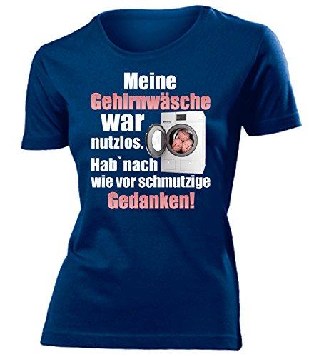 Meine Gehirnwäsche WA nutzlos - HAB Nach wie vor Schmutzige Gedanken 5856 Frauen T-Shirt (F-N) Gr. M