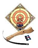 Spielzeugmanufaktur VAH 734 - stabiles Kinder Armbrust-Set Wilhelm Tell aus Echtholz