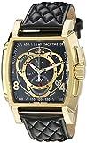 Invicta - Invicta S1 Rally Chronograph Black Dial Black leather Men's Watch 15796 Orologio