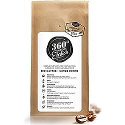 Premium Bio Kaffeebohnen preisgekrönt | Köstlich, sehr säurearm und bekömmlich von 360° rundum ehrlich | Ganze Bohnen | - ideal für Bulletproof Coffee I