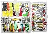 Best Crankbait Rods - Fishing Lure Lots 219Pcs Fishing Frogs Crankbait Kit Review