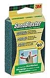 3M Sandblaster Eponge Abrasive 60 pour Décapage 9,5 x 6,5 x 2,5 cm