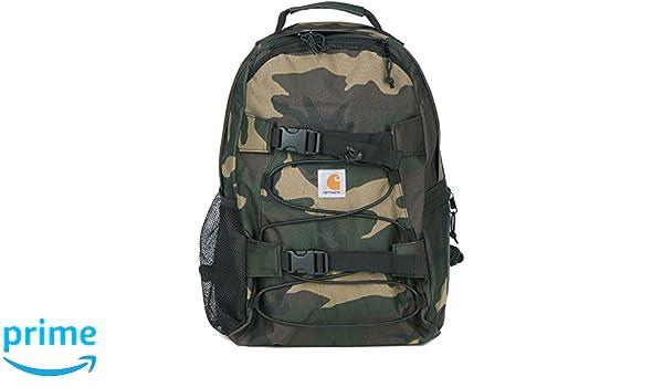 796a4d3f9b CARHARTT WIP - Backpacks - Men - Khaki Kickflip Camouflage Waterproof  Backpack 16 L for men - TU: Amazon.co.uk: Luggage