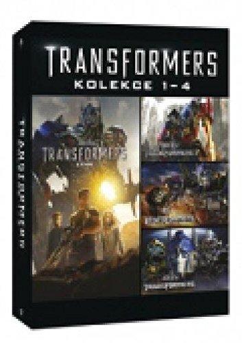 Transformers Kolekce 1-4 4dvd (Transformers 4-movie set)
