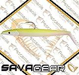Savage Gear Sandeel, Señuelo, Multicolor (Lemon Back), 16 cm (42 gr)