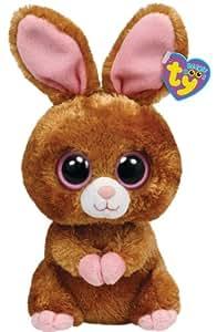 TY 36981 - Beanie Boos Hopson - Hase Plüschtier, 24 cm braun