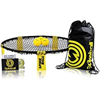 Spikeball Outdoor Garden Games Ball Activity Sports Set - As Seen On Shark Tank - Play on Lawn, Yard, Beach, Football Field - Includes Net, 3 Balls, Bag, Rule Book - Great Gift for Kids, Family, Teens, Boys, Adults