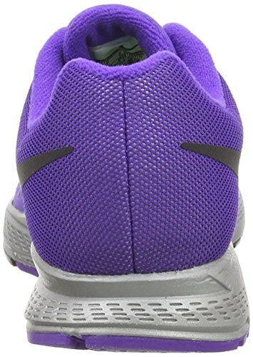 Nike Air Zoom Pegasus 31 Flash, Chaussures de Running femme Violet (Reflect Silver/Black/Hyper Grape)