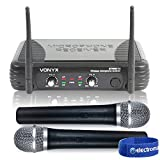 Best Wireless Microphone Systems - Dual Channel VHF Wireless Radio Microphone System Review
