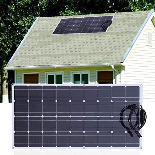150W 18V Flexible Solar Panel Monokristalline Solarzelle Tragbare Solarzelle mit 20A Solar Controller und 10M MC4 Verlängerungskabel 150w Solar-panel