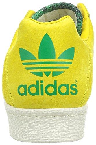 ULTRASTAR 80'S RUN DMC JAU - Chaussures Homme/Femme Adidas Jaune