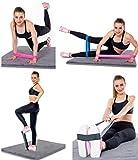 Wokee Resistance Band Loop Yoga Pilates Startseite Gleitscheiben Core Sliders Fitnessstudio Fitness Training Training Zuhause Geräte für Pilates,Crossfit,Yoga Muskelaufbau und Rehabilitation