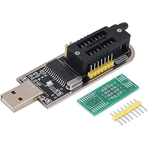 WINGONEER EEPROM enrutamiento programador USB LCD CH341A escritor flash para el SPI 25 Serie 24