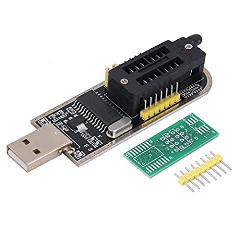 WINGONEER EEPROM Routage Programmeur USB CH341A Writer LCD Flash pour 25 SPI série 24