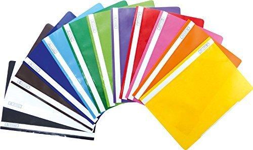 Preisvergleich Produktbild Brunnen Schnellhefter Kunststoff - GROßPACK bunt - 12 Stück bzw. Farben im Pack