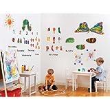suchergebnis auf f r raupe nimmersatt wandtattoos wandbilder malerbedarf. Black Bedroom Furniture Sets. Home Design Ideas