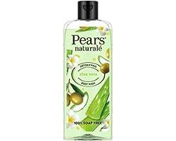Pears Naturale Detoxifying Aloevera Bodywash, With Olive Oil & Aloe Vera, Paraben Free, Soap Free, Eco Friendly, Dermatologic