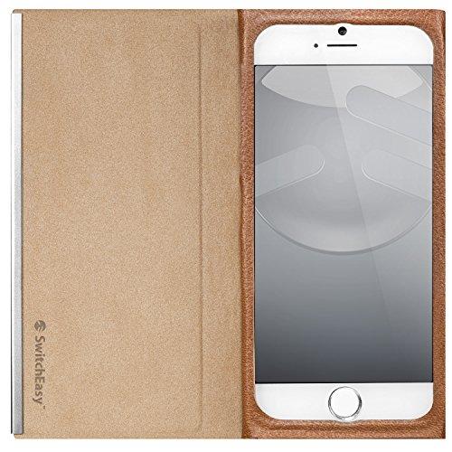 SwitchEasy Nude-Custodia ultrasottile per Apple iPhone 6 Marrone
