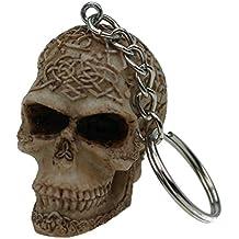 e27913970ef Unbekannt Porte-clés Crâne de Mort Celtic Tête ...