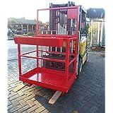 Staple Etapa trabajo Etapa Stapler Seguridad Cesto trabajo de Stapler Rojo