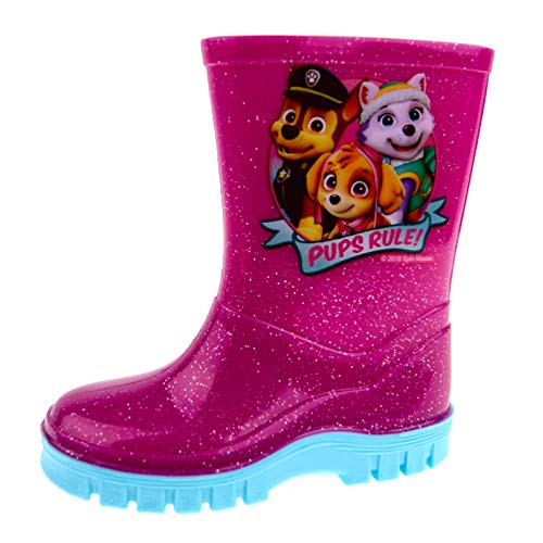 Paw Patrol Girls Wellington Boots Pink