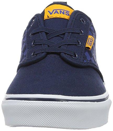 Vans  Yt Atwood Slip-on, Sneakers Basses garçon Bleu (Checkers)