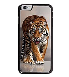 Fuson Designer Back Case Cover for Apple iPhone 6S (Tiger Wild Animal Roaring Animal Fierce ANimal dangerous Tiger)