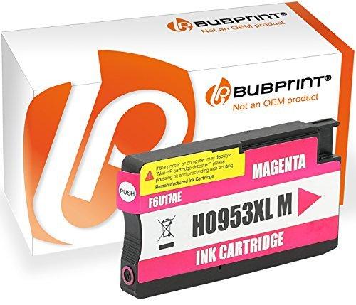 Bubprint 5 Druckerpatronen kompatibel für HP 953XL HP 953 XL OfficeJet Pro 8710 8715 8720 8725...