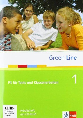 Preisvergleich Produktbild Green Line / Fit für Tests und Klassenarbeiten zu Band 1 (5. Klasse): Buch und CD-ROM mit Lösungsheft